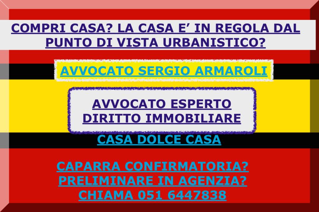 LA CAPARRA CONFIRMATORIA QUANDO COMPRI CASA, BOLOGNA AVVOCATO ESPERTO DIRITTO IMMOBILIARE